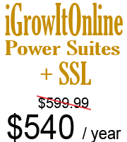 iGrowItOnline Power Suites SSL Bundle